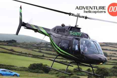 Adventure 001 - 12 Mile Themed Helicopter Flight for One or Two - Save 0%