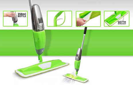 Direct 2 public - Powerzone microfibre spray mop - Save 82%