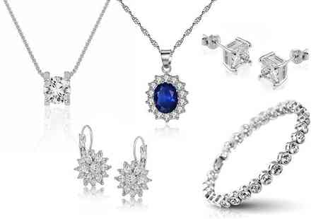 GameChanger Associates - Piece of crystal jewellery with free earrings - Save 82%