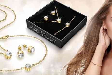 Lily Spencer London - Tri set of jewellery - Save 77%