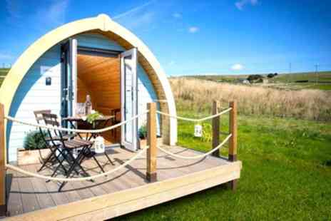 Rossendale Holidays Cottages - Two Nights in Glamping Pod for Two or Cottage for Three or Four with Bottle of Wine - Save 24%