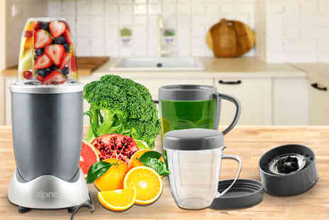 Direct 2 public - 11 piece 600w nutrition extractor juice blender - Save 65%
