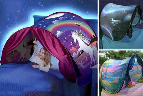 Charles Oscar - Magical pop up bed tent - Save 67%