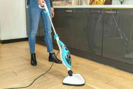 Groupon Goods Global GmbH - Davis and Grant Ten In One Steam Mop with UK Plug and Optional Extra Pads - Save 0%