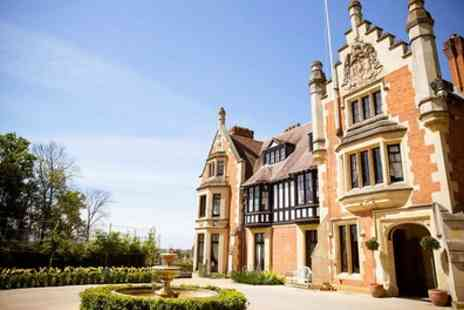 Wood Norton Hall Hotel - Double Room for 2 with Breakfast, Dinner on First Night and Prosecco - Save 23%