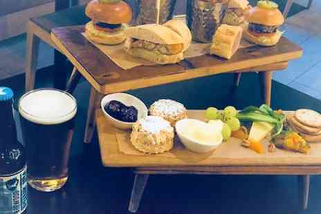 Holiday Inn - Rustic Afternoon Tea with Wine for Two or Four - Save 27%
