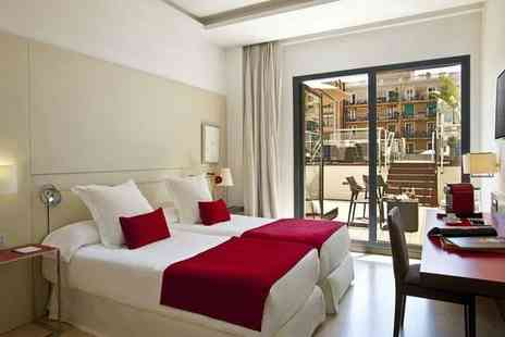 Grupotel Gran Via - Four Star Central City Hotel Stay in Beautiful 19th Century Building For Two - Save 80%