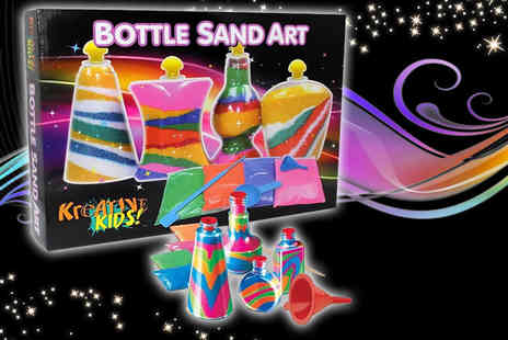 Direct 2 public - Bottle sand art set - Save 70%
