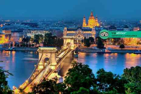 Tour Center - Two or three night Budapest stay with breakfast and return flights - Save 27%