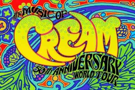 Alchemy Promotions - Two tickets to see The Music of Cream on 24 November in Leamington, 25 November in London - Save 50%