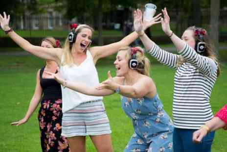 Boogie Shoes Silent Disco - Come join the brilliant Boogie Shoes Silent Disco on an immersive dance-walk through the busy crowds of Central London - Save 0%