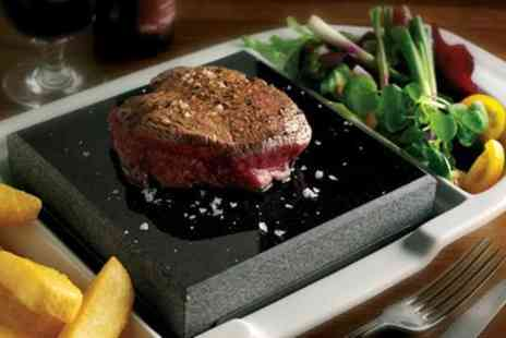 White Lion Hotel - Black Rock 8oz Sirloin Steak for Up to Four - Save 50%