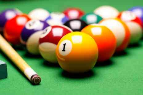 Maidstone Snooker Club - One Year Membership for Up to Four - Save 67%