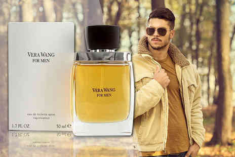 Deals Direct - 50ml bottle of Vera Wang for men Edt - Save 63%