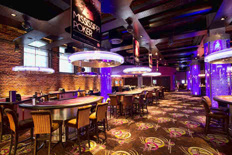 Caesars Entertainment - Burger, beer and bet at a choice of premium casino - Save 46%