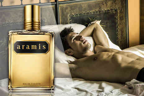Deals Direct - A 110 mL Aramis eau de toilette spray for him - Save 72%