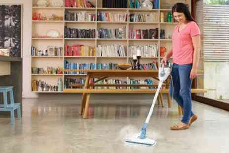 Groupon Goods Global GmbH - Black and Decker FSMH1300FX Seven in One Steam Mop - Save 9%