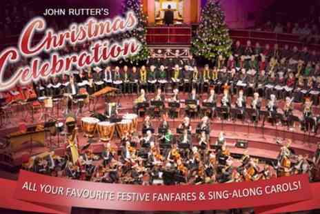 Royal Philharmonic Orchestra - One ticket to Royal Philharmonic Orchestra John Rutters Christmas Celebration on 13 December - Save 22%