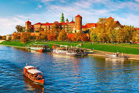 Tour Center - Two or Three Nights 4 Star Stay Hotel Stay With Flights & Auschwitz Memorial and Museum Tour - Save 0%