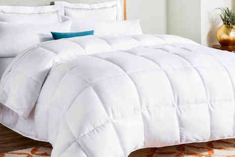Direct Warehouse - 13.5 tog goose feather and down duvet - Save 61%