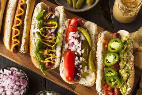 Frank & Stein - Frankfurter and stein of draught beer or cocktail each for two - Save 45%