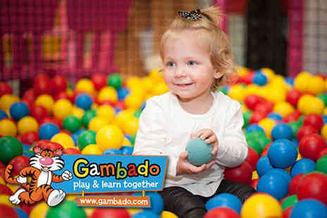 Gambado - Entry to Gambado Soft Play for two adults and two children choose from three locations - Save 36%