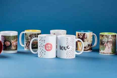 Colorland - Up to Three Personalised Photo Mugs - Save 73%
