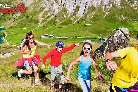 Alpine Elements - Family Breaks in the Alps this Summer - Save 40%