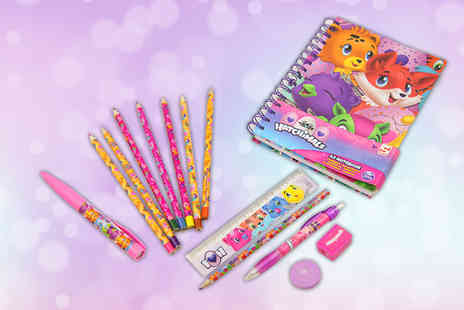 Direct 2 public - Hatchimals stationery set - Save 73%