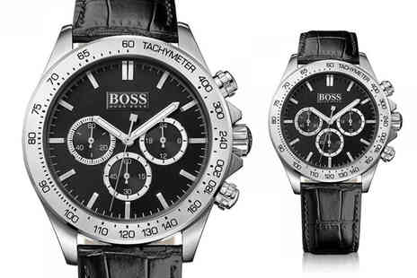 Direct E Trade - Hugo Boss mens Ikon chronograph watch - Save 67%