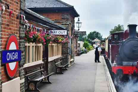 Eping Ongar Railway - Scenic steam train trip in Essex - Save 32%