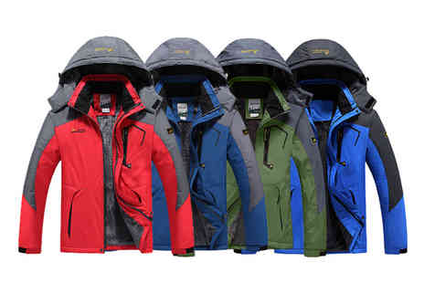 Charles Oscar - Mens waterproof and windproof jacket - Save 64%