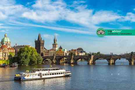 Via Holiday - Two or Three night Prague city break, breakfast, river cruise and return flights - Save 42%