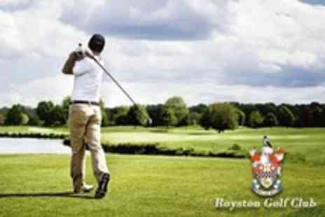 Royston Golf Club - 18 Holes of Golf For Four With Bacon Roll and Coffee Each - Save 72%