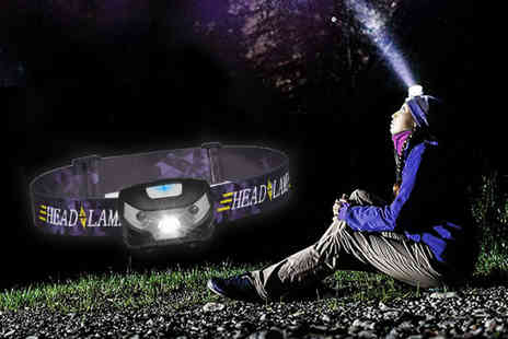 Charles Oscar - 3W mini LED headlamp - Save 74%
