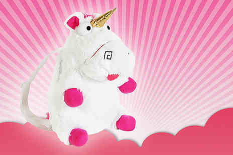 Direct 2 public - Fluffy unicorn backpack - Save 78%