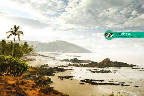 Tour Center - Seven or Ten night Goa beach escape with breakfast and flights - Save 33%