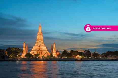 Great Pacific Travels - 10 night Bangkok, Phuket and Phi Phi, Thailand break with breakfast, ferry and return flights - Save 36%