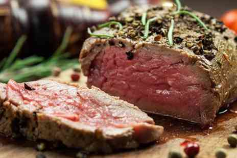 Cheshire Line Tavern - Two Course Steak Meal for Two or Four - Save 49%