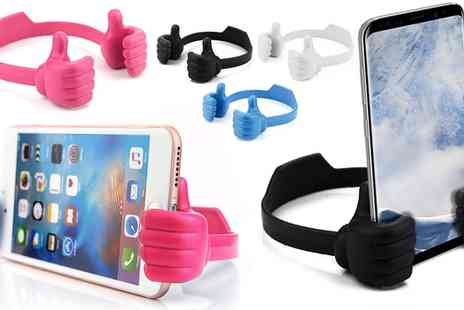 Groupon Goods Global GmbH - One or Two Thumbs Up Mobile Phone or Tablet Holders - Save 80%