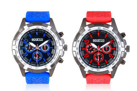 Brands Store - Mens Sparco Eddie watch choose from four colours - Save 69%