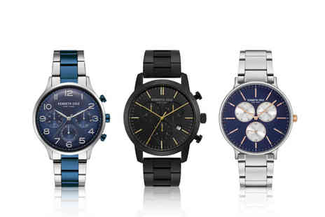 Brand Logic - Kenneth Cole mens watch choose from nine designs - Save 70%