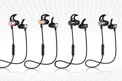 Wow What Who - Pair of wireless Bluetooth earphones - Save 83%