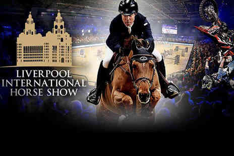 Bolesworth Events - Child ticket to The Liverpool International Horse Show on Saturday 29th December - Save 40%