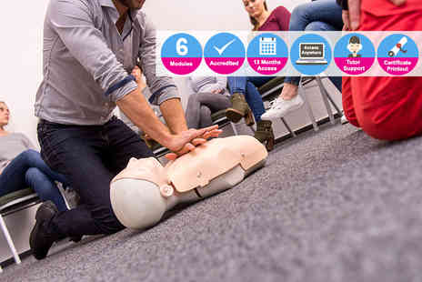 Oplex Careers - An accredited first aid at work course - Save 87%