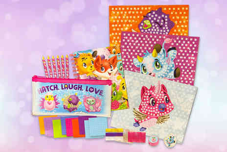 Direct 2 public - Hatchimal mosaic art and craft pack - Save 72%