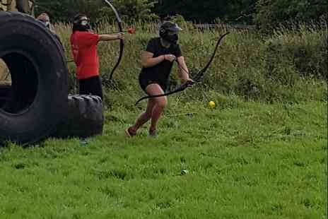 Forest Fitness Ni - Archery tag experience - Save 38%