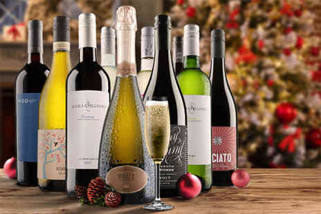 Virgin Wines - 10 bottle selection of wine choose from red, white and mixed - Save 64%