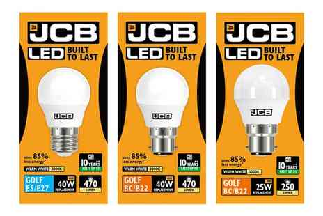 Groupon Goods Global GmbH - One, Two, Three or Six Jcb Led Golf Opal Lamps - Save 0%