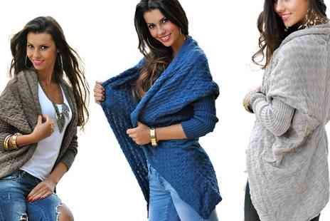 Groupon Goods Global GmbH - Warm Anna Cardigan in Choice of Colour - Save 0%